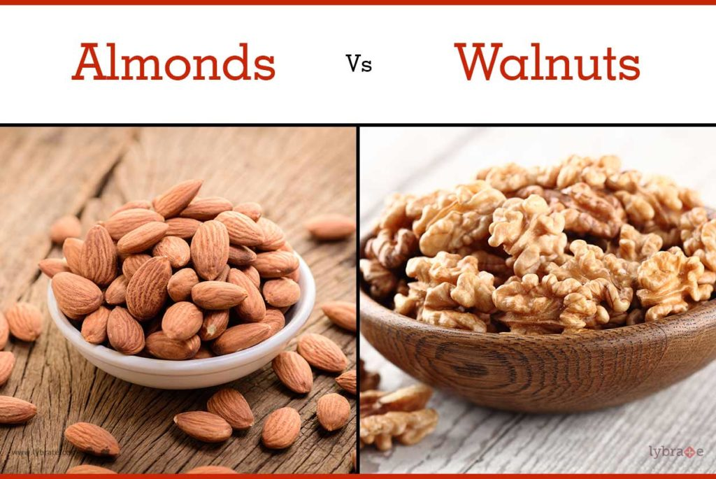 walnuts vs almonds, cravemonger