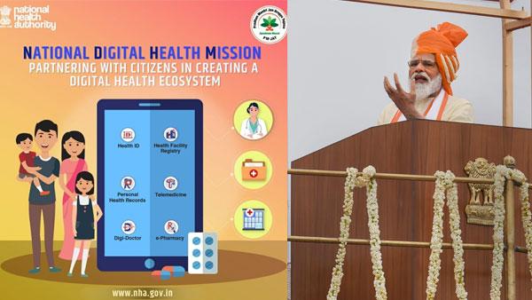 PM Modi launches national digital health mission