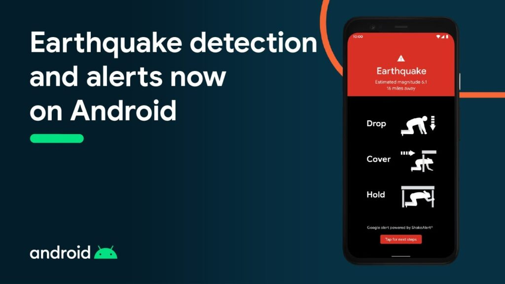 Android phone can now detect earthquake