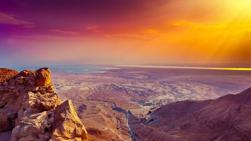 Negev Desert, Offbeat Romantic Destinations, Crave Monger