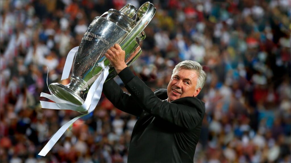 New Manager Of Real Madrid, Carlo Ancelotti, Crave Monger