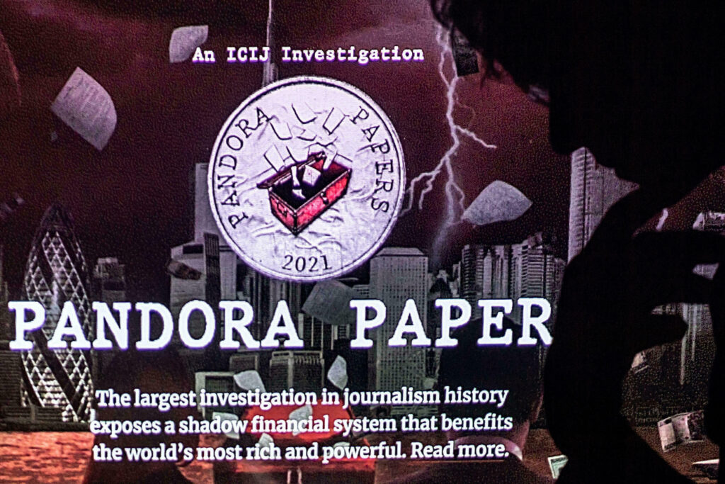 Pandora Papers Leak, Crave Monger